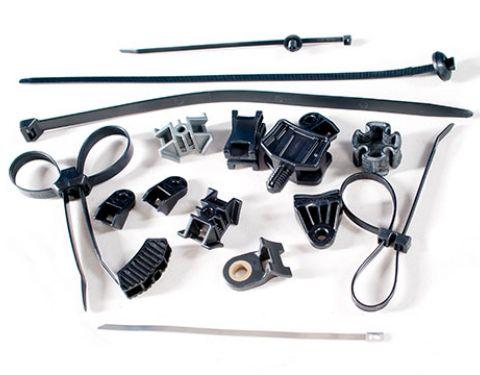 Plastic/nylon cable ties